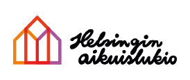 Helsingin aikuslukion logo.